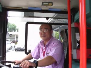 Former SMRT bus driver, Hu Xiuwen