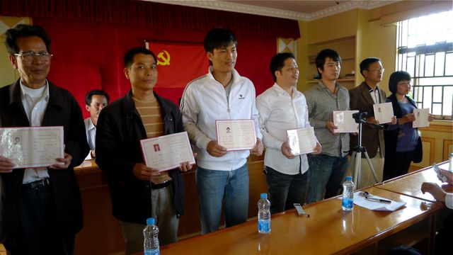 Wukan's democratically elected Village Committee