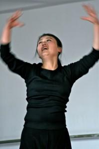 Actress-in-training, Ri Yun Mi